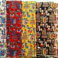 Kalamkari Silk Fabric