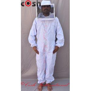 BK-03 Mens Cotton Beekeeping Suit