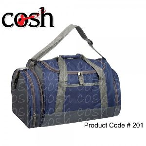 Blue Gym Duffle Bag