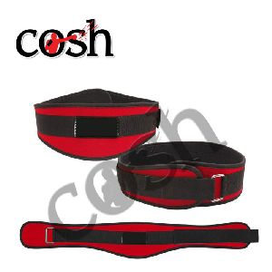 Red & Black Neoprene Weightlifting Belt