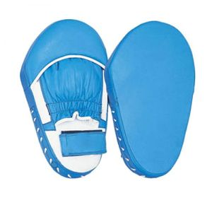Blue Leather Boxing Focus Pads