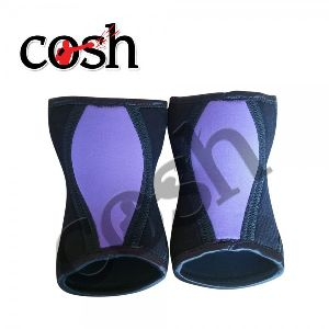Black & Blue Weightlifting Knee & Sleeve Wrap