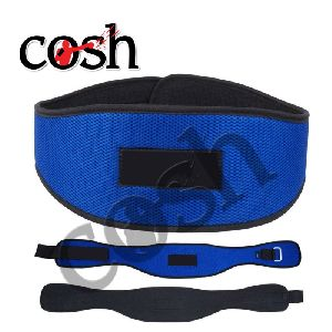 Blue & Black Neoprene Weightlifting Belt