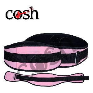 Pink & Black Neoprene Weightlifting Belt