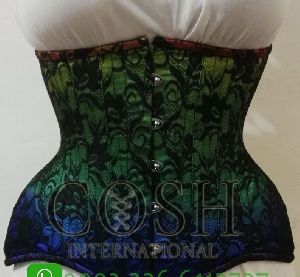 Printed Rainbow Mystery Corset