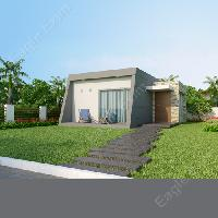 3D Architectural Landscape Rendering