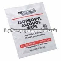 Isopropyl Alcohol Wipes (824-W)
