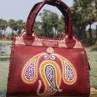 Designer Leather Bag Top Handle 02