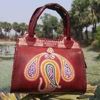 Designer Leather Bag Top Handle-01