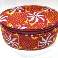 Embroidered Make-Up Boxes