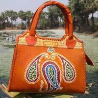Leather Top Handle Bag B