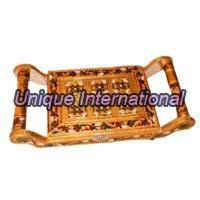 Decorative Tray with Boxes
