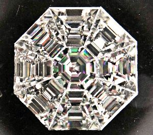 Octagonal Pie Cut Diamonds