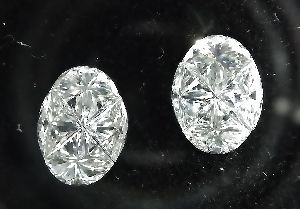 Oval Pie Cut Diamonds