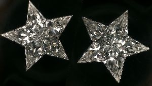 Star Pie Cut Diamonds