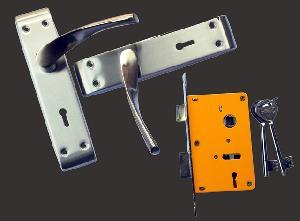 Mortise Lock & Handle Set