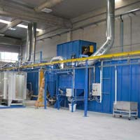 Conveyorised Coating Plant 01
