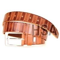 Mens Leather Belt (G58909TAN)