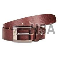 Mens Leather Belt (G58910BRN)