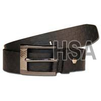Mens Leather Belt (G58913BLK)