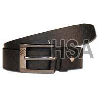 Mens Leather Belt (G58913BLK)