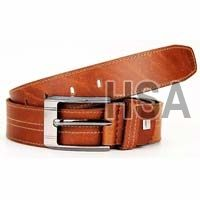 Mens Leather Belt (G58920TAN)