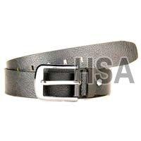 Mens Leather Belt (G58923BLK)
