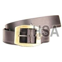 Mens Leather Belt (G58926BLK)