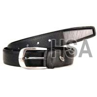 Mens Leather Belt (G58935BLK)