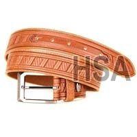 Mens Leather Belt (G58950TAN)