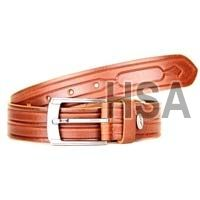 Mens Leather Belt (G58951TAN)