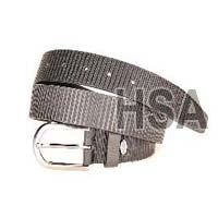 Mens Leather Belt (G58953BLK)