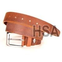 Mens Leather Belt (G58953TAN)