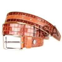 Mens Leather Belt (G58954TAN)