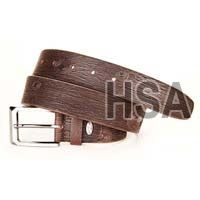 Mens Leather Belt (G58956BRN)