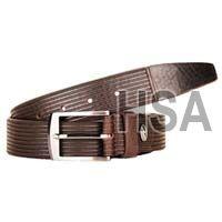 Mens Leather Belt (G58957BRN)