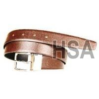 Mens Leather Belt (G58966REV)