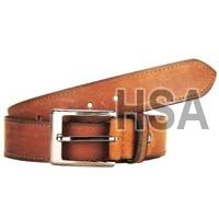 Mens Leather Belt (G58971BRN)