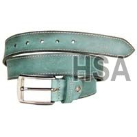 Mens Leather Belt (G58972GRN)