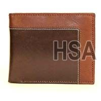 Mens Leather Wallet (F65909)