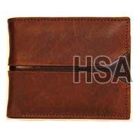 Mens Leather Wallet (F65910BRN)