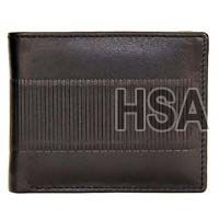 Mens Leather Wallet (F65912BLK)