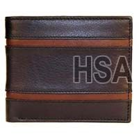 Mens Leather Wallet (F65915BLK)