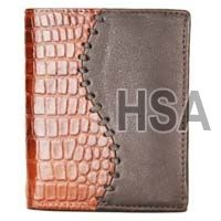 Mens Leather Wallet (F86811)