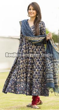 Anarkali Cotton Suit 01