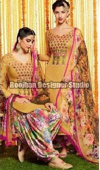 Crepe Patiala Suit 02