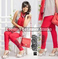 Embroidered Legging 06