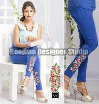 Embroidered Legging 07