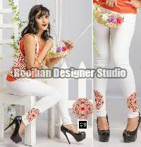 Embroidered Legging 08