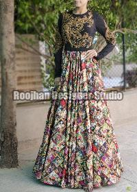 Indo Western Gown 05